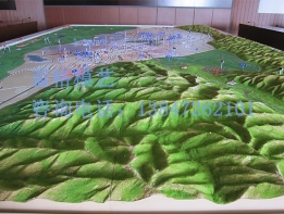 兴安盟地形地貌模型